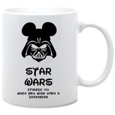 Star Wars Ep7 Coffee Mug by PLAN9TSHIRTS on Etsy, £5.00