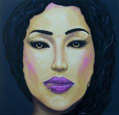 Chtíč (7 smrtelných hříchů) * #lust #painting #acrylic #art #mortal #sin #malba #umeni #chtic #sedmsmrtelnychhrichu #ladylu #ladyluart #ladyluartist