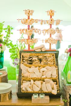 bread station, crazy fun buffet by Yellow Carrot, Brumley & Wells Photography #Durango Colorado Wedding Planner, Celebrations   www.theeventpro.com