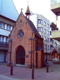 Chapel of the fishermen in Knokke-Heist