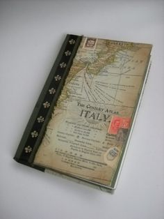 Italian Map Journal by NeonSun on Etsy, $40.00