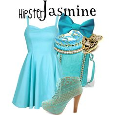 """Hipster Jasmine"" by lauren-claire-bacher on Polyvore"