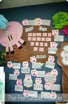 Farm animal theme love her pig