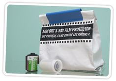 Keep Your Film Safe on Plane Trips...the x-ray machines expose your film!