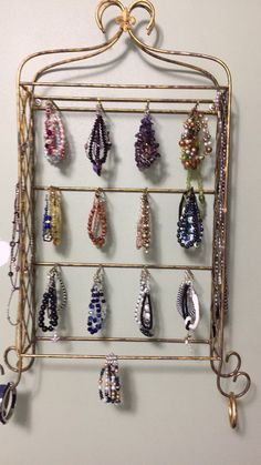 Silver with Black Lace vintage jewelry box Pinterest Hanging