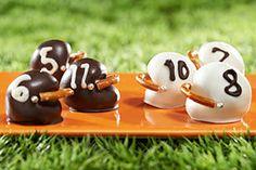 OREO Football Helmet Cookie Balls Recipe