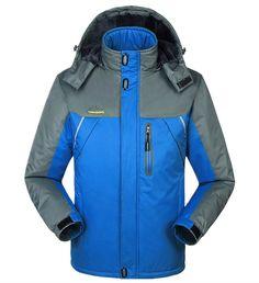69d34460727b4 Men s Winter Thermal Thick Velvet Windbreaker Fashion Outwear Waterproof  Windproof Jacket Parka Coat