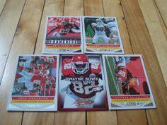 DWAYNE BOWE ERIC BERRY TONY MOEAKI JON BALDWIN 2013 Panini Chiefs (5) Card Lot