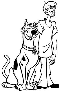 Scooby-Doo Coloring Pages