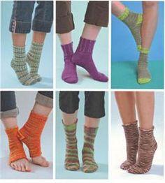 loom knitting pattern yoga socks | Details about KB KNITTING BOARD SOCK LOOM BASICS PATTERN BOOK 11 ...