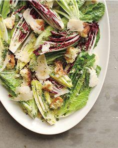 Romaine, Radicchio, and Endive Salad - Martha Stewart Recipes