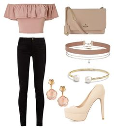 """""""Untitled #53"""" by laurenciaanzela ❤ liked on Polyvore featuring Miss Selfridge, Gucci, Charlotte Russe, Vivienne Westwood, David Yurman and Pasquale Bruni"""