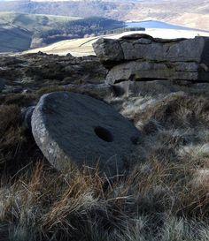 Broken Millstone at Cluther Rocks