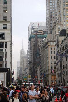 5th Avenue NYC-Fancy shops