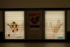 Both my dioramas are in Sherbrooke metro station! (until   June 3rd) with Ford Quebec!!! :D  APPLAUSES!!!!