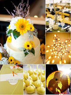 A Vibrant Sunflower Inspired Wedding