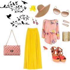 Easter outfit idea, created by wendy on Polyvore