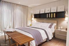 O layout dos quartos abaixo são bem parecidos - mas a decoração de cada um é única!