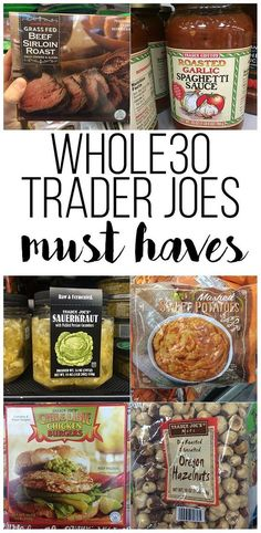 If you are doing Whole 30 you need these items from Trader Joes! I have complied what I think are the must haves you need to be successful! paleo diet whole 30 Clean Recipes, Paleo Recipes, Whole Food Recipes, Budget Recipes, Whole 30 Crockpot Recipes, Easy Whole 30 Recipes, Clean Foods, Quick Recipes, Whole 30 Diet