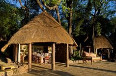 Tongabezi Lodge, Zambia - just upstream of Victoria Falls