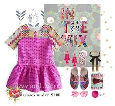 Girls' Dresses Under $100 by izzyandash on Polyvore featuring мода, Zozishine, Kate Spade, Casetify, Gentle Monster, Helen Moore, Beacon, Girls, dress and dresses