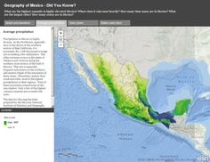 Exploring Mexico through Dynamic Web Maps
