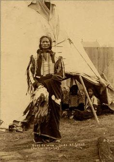 Les Indiens d'Amérique - Chef Sioux