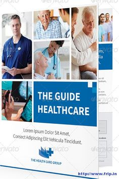 Well Layered Medical Brochure Template  Des Have Industrial Look