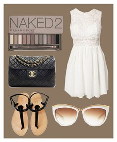 """""""Untitled #6"""" by nomi020406 on Polyvore featuring Urban Decay, Chanel and Alexander McQueen"""