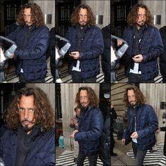Chris Cornell wild hair day... :)