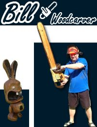 Bill Woodcarver chainsaw carving http://www.sculpturesurbois.info/ChainsawCarving.html