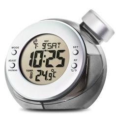 Water Powered LCD Atomic Clock @Brandon Green Energy Toys