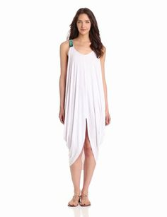 Women's Beaded Feather Dress
