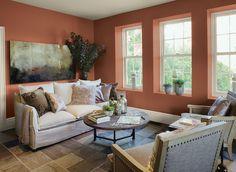 Warm Living Room Colors living room ideas & inspiration   paint color schemes, comfortable