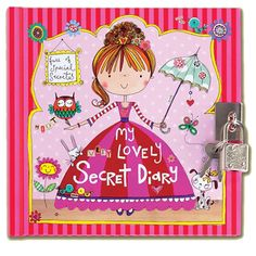 This Rachel Ellen Princess Secret Diary is the perfect gift for keeping top secrets safe!