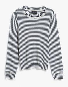 Pull Flynn Sweater in Stripes