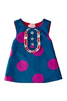 Reversible Tux Dress | Right Bank Babies