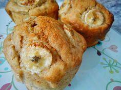 Cinnamon and banana cupcakes / bolinhos de banana com canela