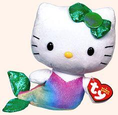 Hello Kitty (mermaid) - cat - Ty Beanie Babies