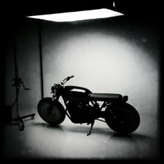 Motorcycle b/w #GETGRAPHIC