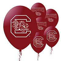 Celebrate the Gamecocks! South Carolina Gamecocks party supplies include themed tableware, party favors, balloons, and tailgating supplies. 4th Birthday Parties, Grad Parties, 5th Birthday, Birthday Ideas, South Carolina Gamecocks Football, Gamecock Nation, Carolina Panthers, Go Gamecocks, Football Birthday