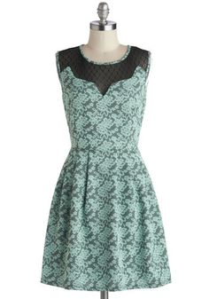Last Day of Vacay Dress, #ModCloth Maybe with a bit of matching lace on the bottom.