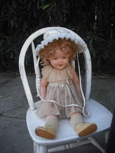 .Shirley Temple doll
