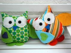 mini hooty hoo by Mushymoo...just love them!!!  Too, too cute.