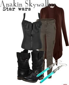 """""""Anakin Skywalker"""" by disney-bound on Polyvore 