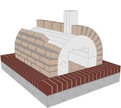 Applying Firebrick onto the Foam Form to make a DIY Wood Fired Brick Pizza Oven