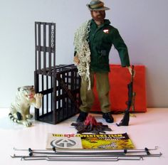 Adventure Team's banner set, The White Tiger Hunt.  All accessories shown were included in the set minus a figure.  Sea Adventurer shown in my image.