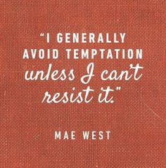 Wise Words: Mae West