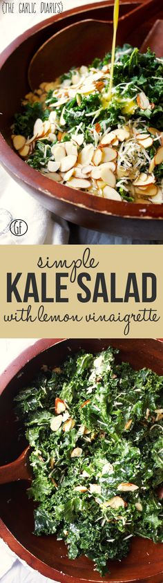 Simple Kale Salad wi