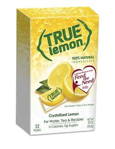 FREE True Lemon Drink Mix At The Dollar Tree!